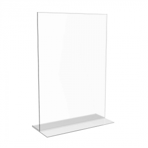 BD 02 Clear acrylic T Shaped page holder
