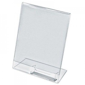 BD 06 A4 Clear Acrylic sign holder w business