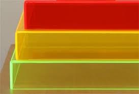 coloured acrylic boxes