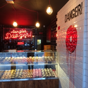 AUNGIER DANGER DOUNUT DISPLAY UNIT